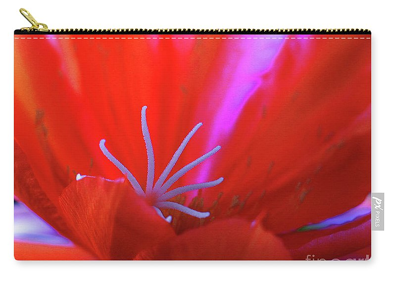 Blue Carry-all Pouch featuring the photograph Spring Blossom 8 by Xueling Zou