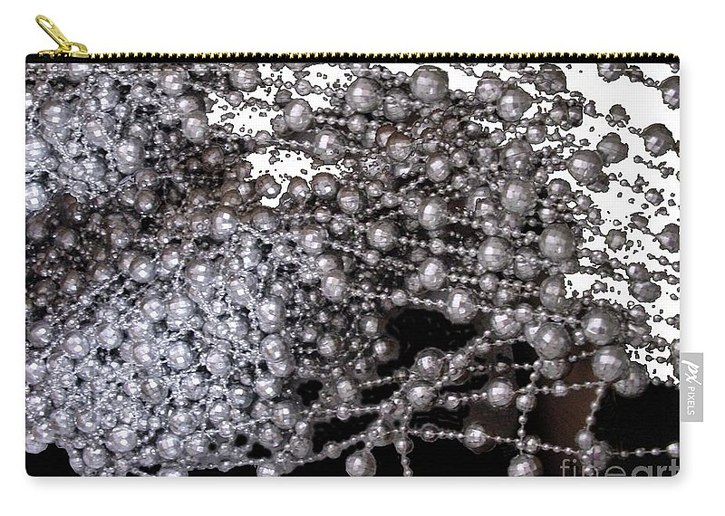 Beadwork Carry-all Pouch featuring the digital art Spring Breakup by Ron Bissett