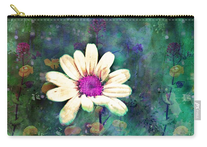 Wall Art Carry-all Pouch featuring the photograph Spring Daydreams by Tara Turner