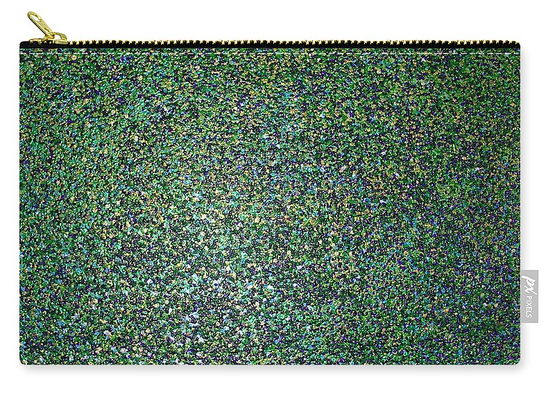 Spring Explosion Carry-all Pouch featuring the painting Spring Explosion by Dawn Hough Sebaugh