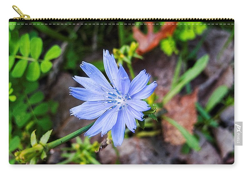 Michigan Carry-all Pouch featuring the photograph Spring Flower by Lars Lentz