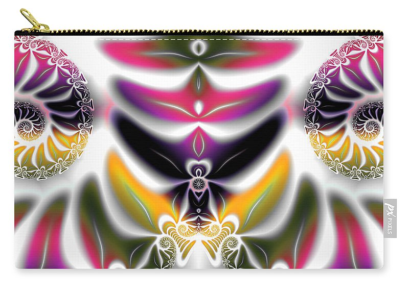 Art Carry-all Pouch featuring the digital art Spring Formal by Candice Danielle Hughes