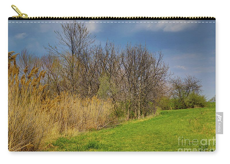 Trees Carry-all Pouch featuring the photograph Spring Grass by Alan Look