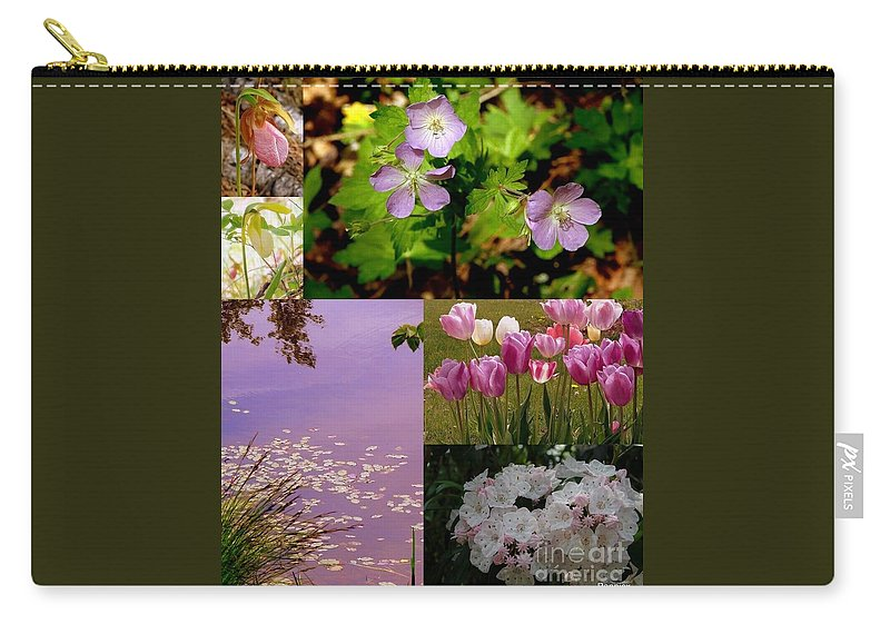 Wild Carry-all Pouch featuring the photograph Spring Has Sprung... by Priscilla Richardson