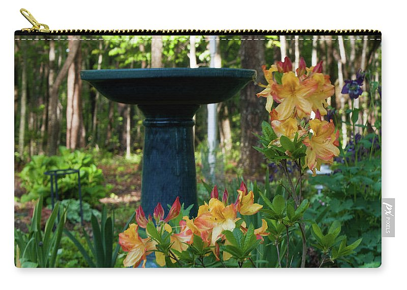 Spring Carry-all Pouch featuring the photograph Spring In Blossom by Douglas Barnett