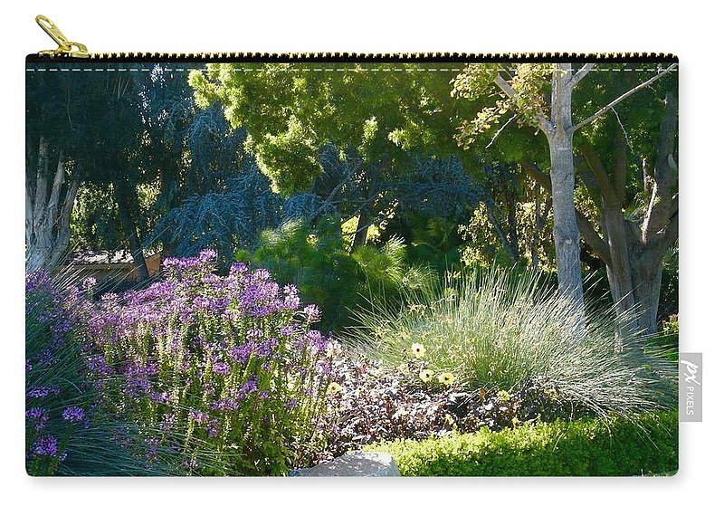 Carry-all Pouch featuring the photograph Spring by Jacqueline Manos