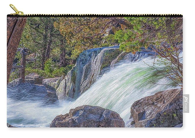 Landscape Carry-all Pouch featuring the photograph Spring Runoff by Marc Crumpler