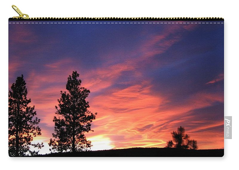 Sunset Carry-all Pouch featuring the photograph Spring Spectacle by Will Borden