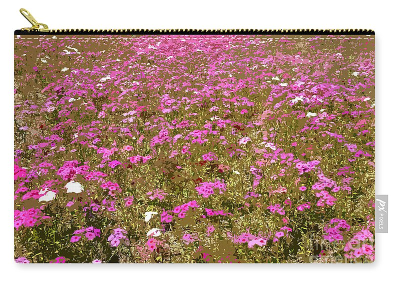 Spring Carry-all Pouch featuring the digital art Spring Time by David Lee Thompson