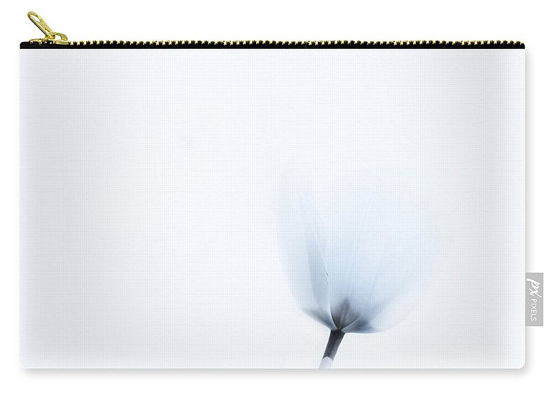 Minimalism Carry-all Pouch featuring the photograph Spring Whispers by Theresa Tahara