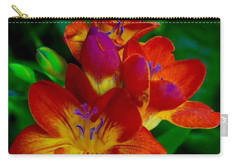 Blooms Carry-all Pouch featuring the photograph Springtime Happiness by Tim G Ross