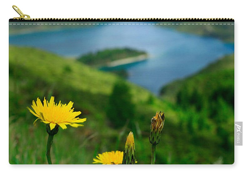 Caldera Carry-all Pouch featuring the photograph Springtime In Fogo Crater by Gaspar Avila