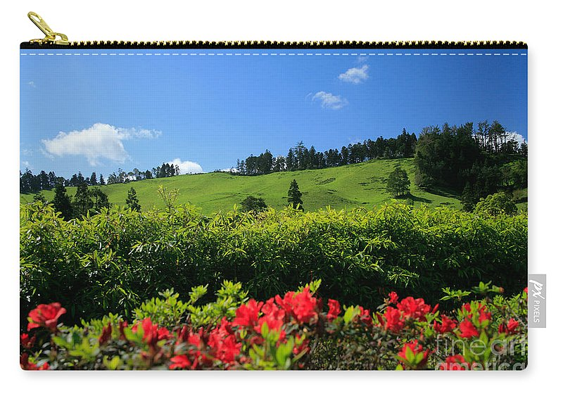 Countryside Carry-all Pouch featuring the photograph Springtime Landscape by Gaspar Avila