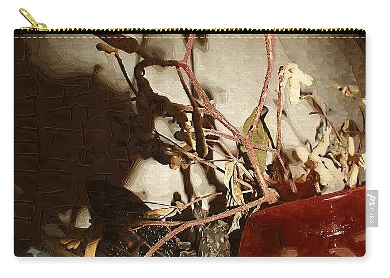 Antiques Carry-all Pouch featuring the painting Spyglass Through Time by RC DeWinter