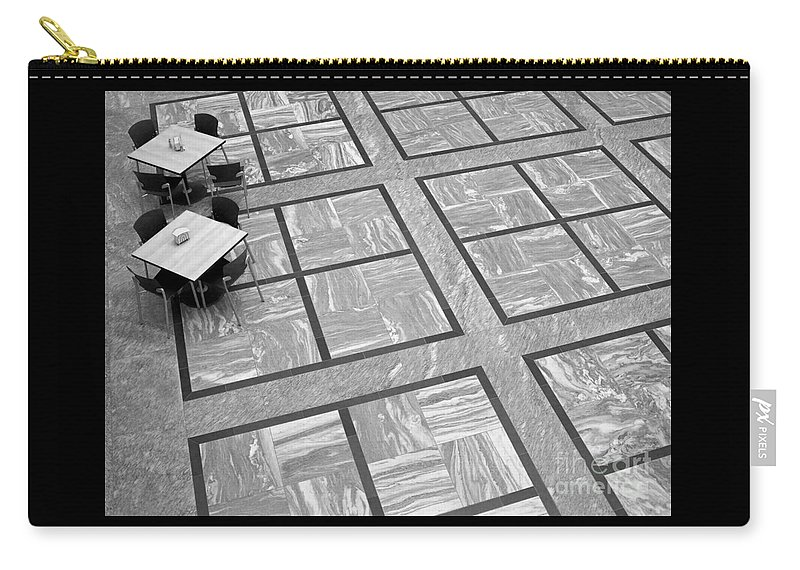 Squares Carry-all Pouch featuring the photograph Squared by Ann Horn