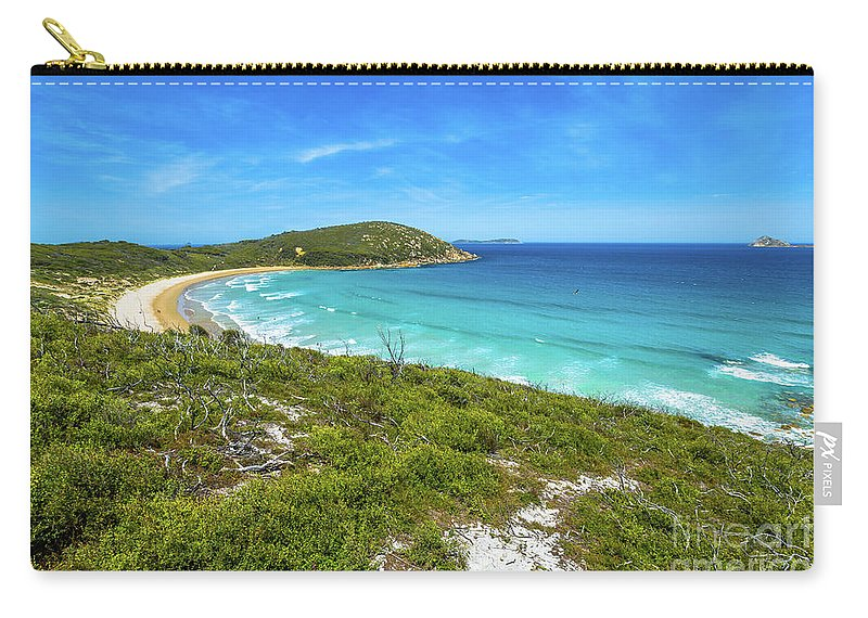 Australia Carry-all Pouch featuring the photograph Squeaky Beach Victoria by Benny Marty