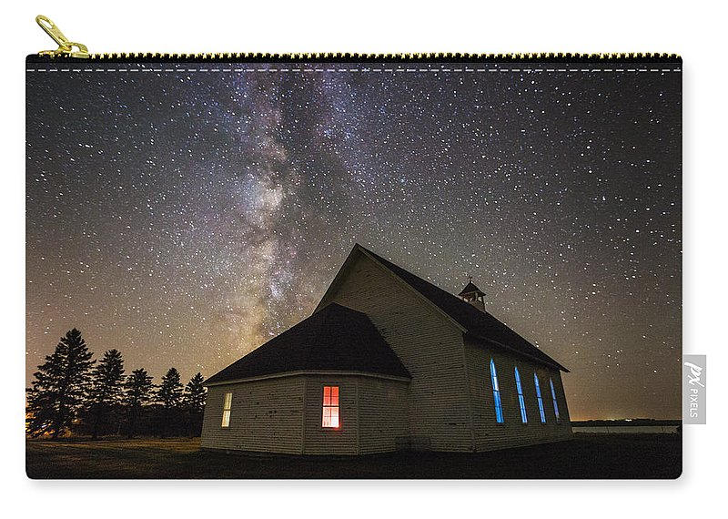 Carry-all Pouch featuring the photograph St. Ann's 2 by Aaron J Groen