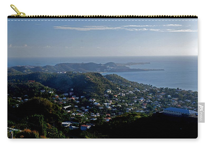 Sunset Carry-all Pouch featuring the photograph St. George's Grenada by Gary Wonning