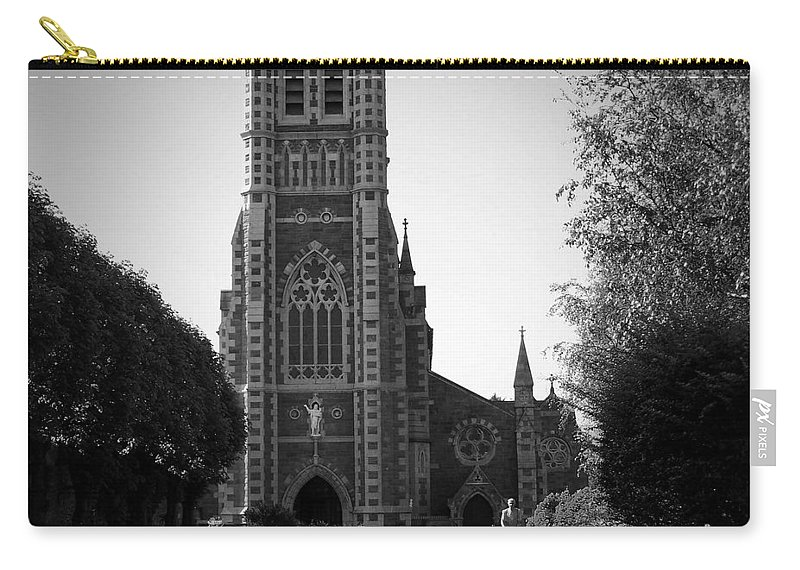 Irish Carry-all Pouch featuring the photograph St. John's Church Tralee Ireland by Teresa Mucha