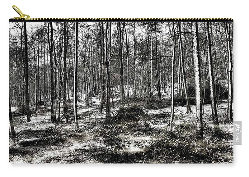 Stlawrenceswood Carry-all Pouch featuring the photograph St Lawrence's Wood, Hartshill Hayes by John Edwards