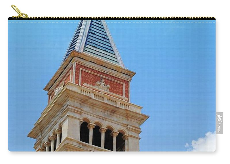 Saint Marks Carry-all Pouch featuring the photograph St. Marks by Jost Houk