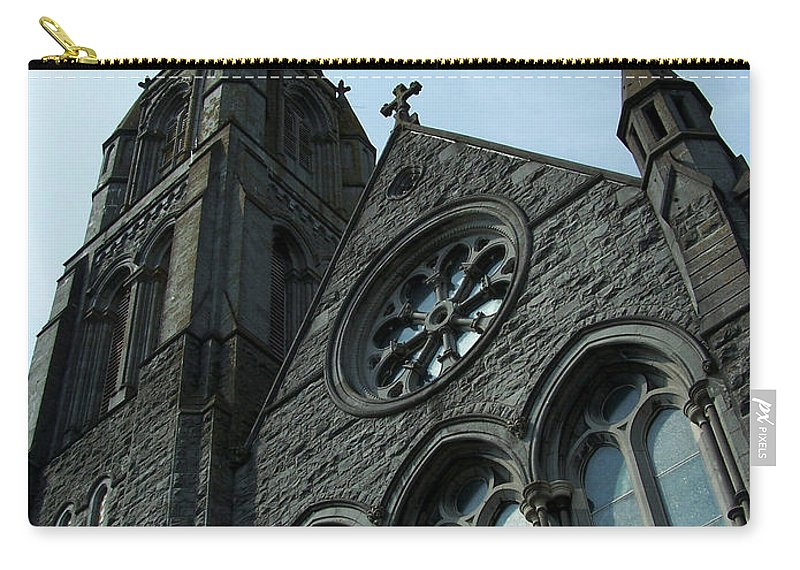 Ireland Carry-all Pouch featuring the photograph St. Mary's Of The Rosary Catholic Church by Teresa Mucha