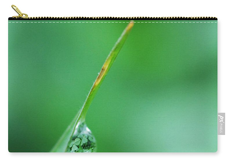 Grass Carry-all Pouch featuring the photograph St. Patrick's Day by Donna Blackhall