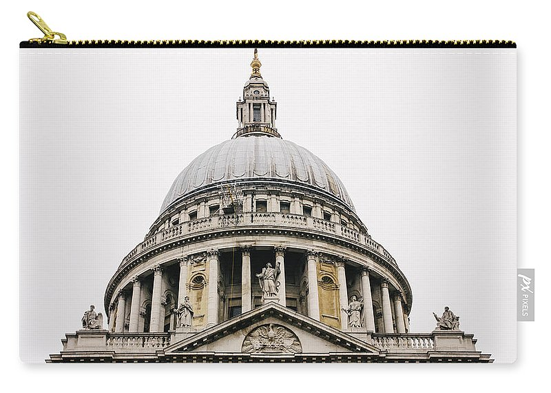 St Pauls Carry-all Pouch featuring the photograph St Paul Cathedral Dome by Pati Photography