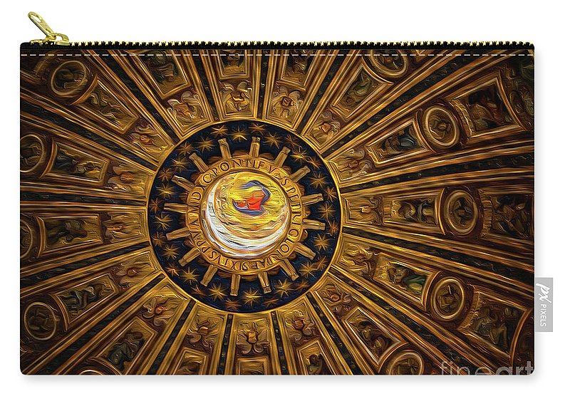 St. Peter's Carry-all Pouch featuring the photograph St. Peter's Duomo 2 by Doug Sturgess