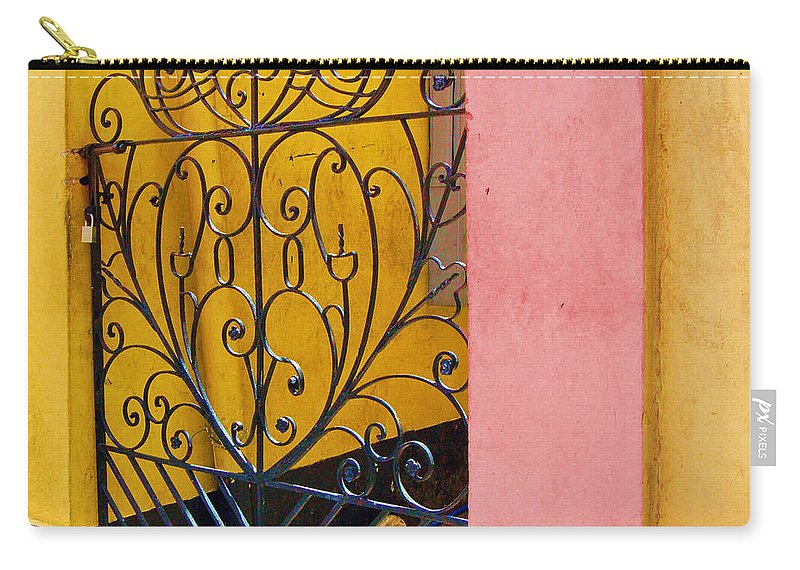 Gate Carry-all Pouch featuring the photograph St. Thomas Gate by Debbi Granruth