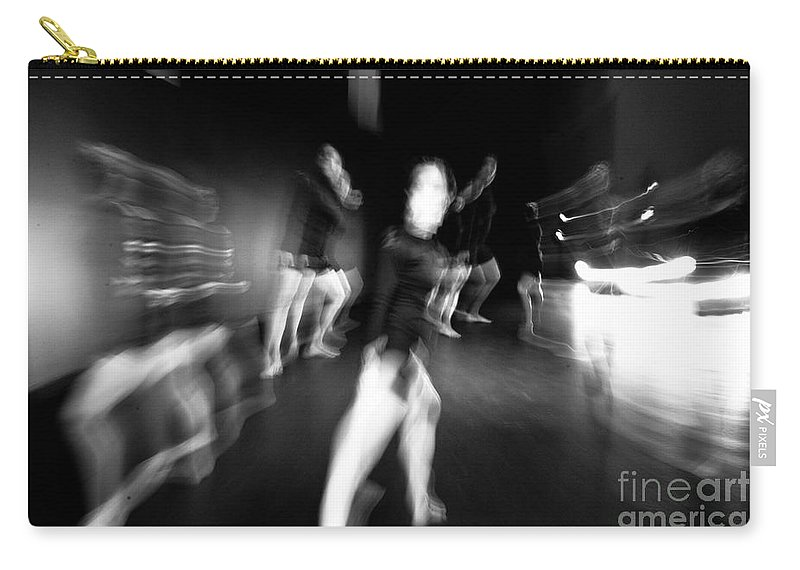 Moden Dance Carry-all Pouch featuring the photograph Stage Zoom - 1 by Scott Sawyer