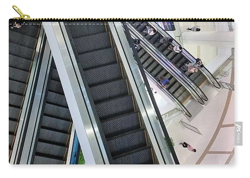 Stairs Carry-all Pouch featuring the photograph Stairs by Michael Brown