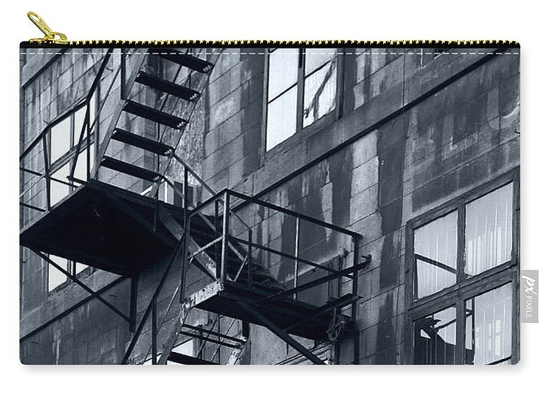 Canada Carry-all Pouch featuring the photograph Stairs by Pierre Logwin