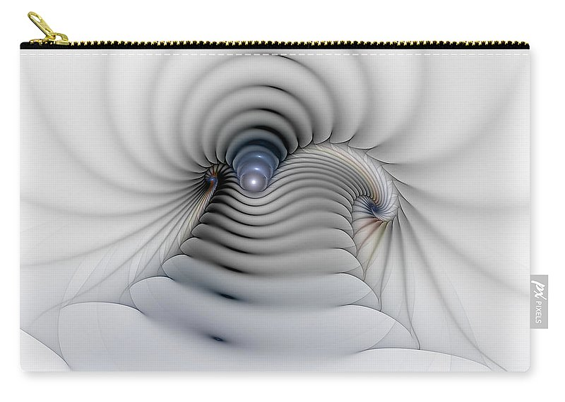 Abstract Carry-all Pouch featuring the digital art Stairway To Heaven by Casey Kotas