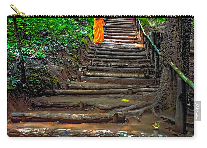 Jungle Carry-all Pouch featuring the photograph Stairway To Heaven by Steve Harrington