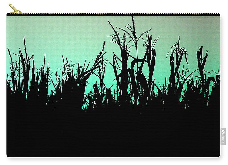 Corn Carry-all Pouch featuring the photograph Stalker by M Pace