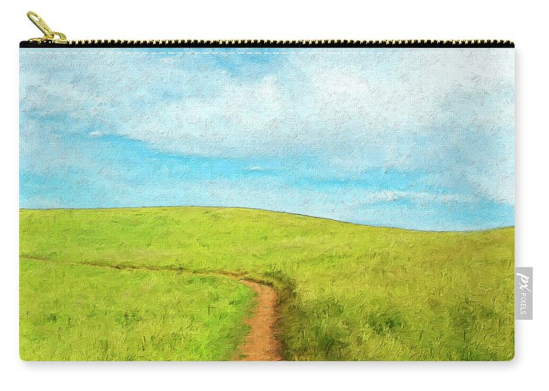Stand By Me Carry-all Pouch featuring the painting Stand By Me by Dominic Piperata