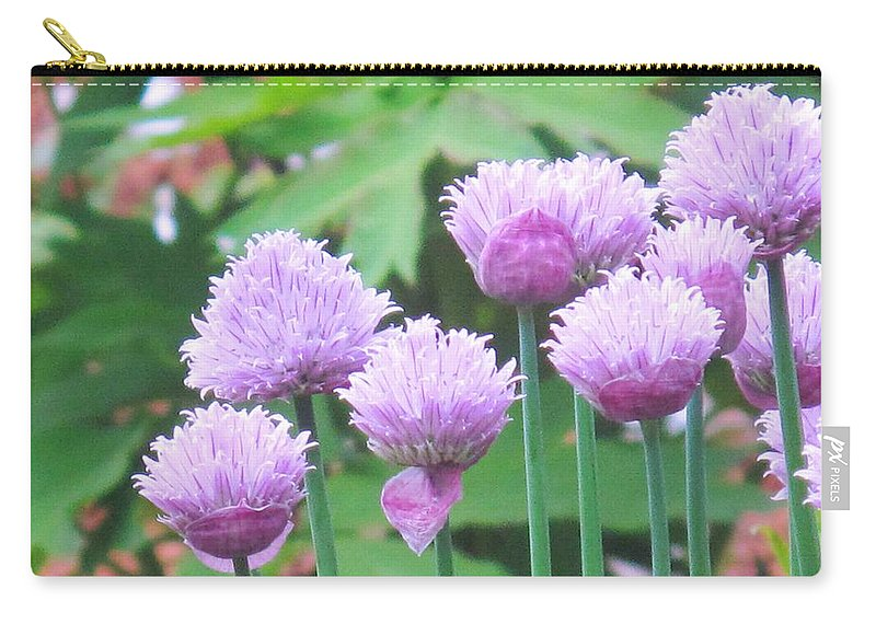Flower Carry-all Pouch featuring the photograph Stand Tall by Ian MacDonald