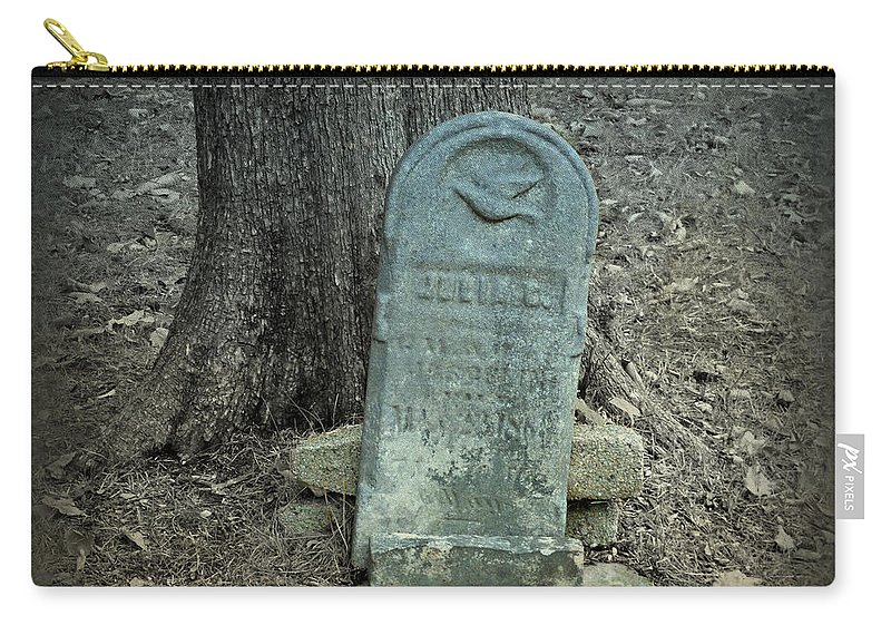 Cemetery Carry-all Pouch featuring the photograph Stand Tall by Scott Ward