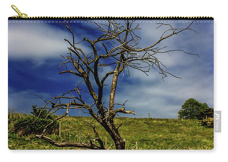 Tree Carry-all Pouch featuring the photograph Standing Alone by Martin Newman