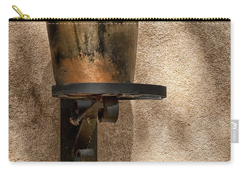 Southwest Carry-all Pouch featuring the photograph Standing Alone by Sandra Bronstein