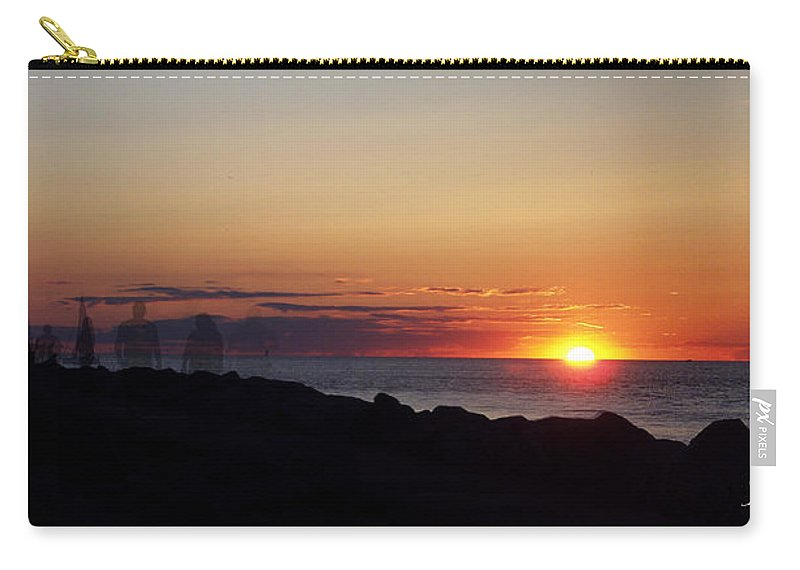 Photography Carry-all Pouch featuring the photograph Standing The Test Of Time by Frederic A Reinecke