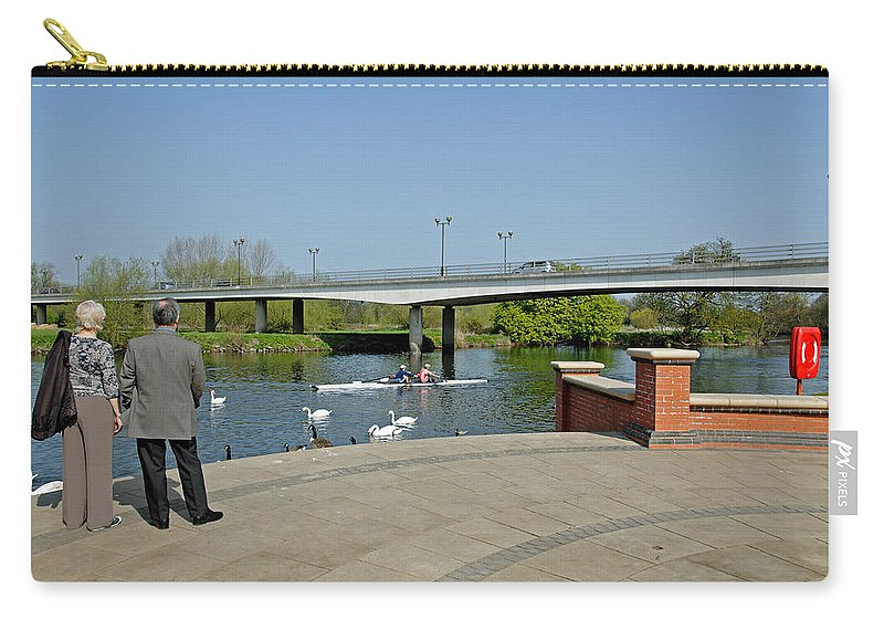 Stapenhill Carry-all Pouch featuring the photograph Stapenhill Gardens - A New Look by Rod Johnson