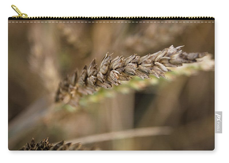Wheat Carry-all Pouch featuring the photograph Staple Grain by Monika Tymanowska
