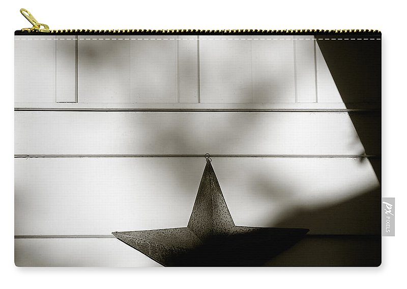 Star Carry-all Pouch featuring the photograph Star And Stripes by Dave Bowman