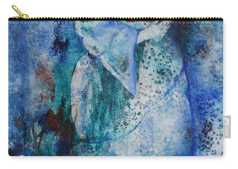 Abstract Carry-all Pouch featuring the painting Star Dancer by Jean Blackmer