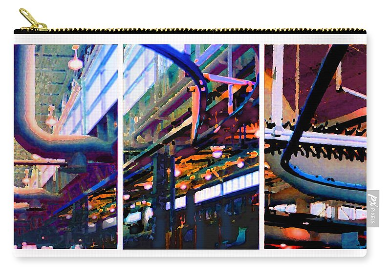 Abstract Carry-all Pouch featuring the photograph Star factory by Steve Karol