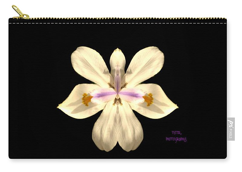 Flower Carry-all Pouch featuring the photograph Star Flower by Rene GrayMitchell