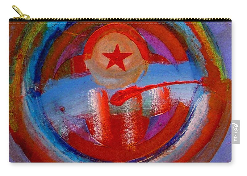 Love Carry-all Pouch featuring the painting Star Of The Sea by Charles Stuart