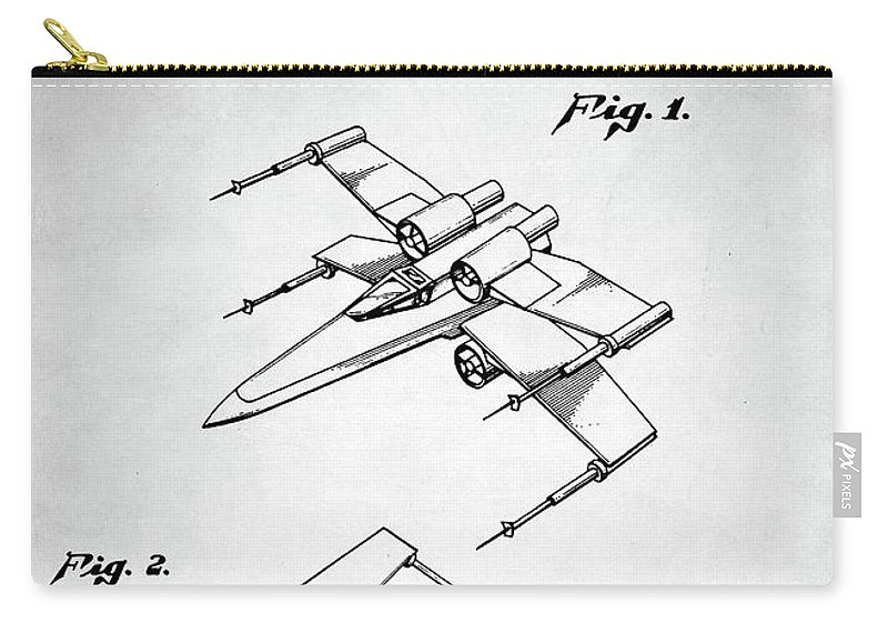 Star Wars X Wing Patent Carry All Pouch
